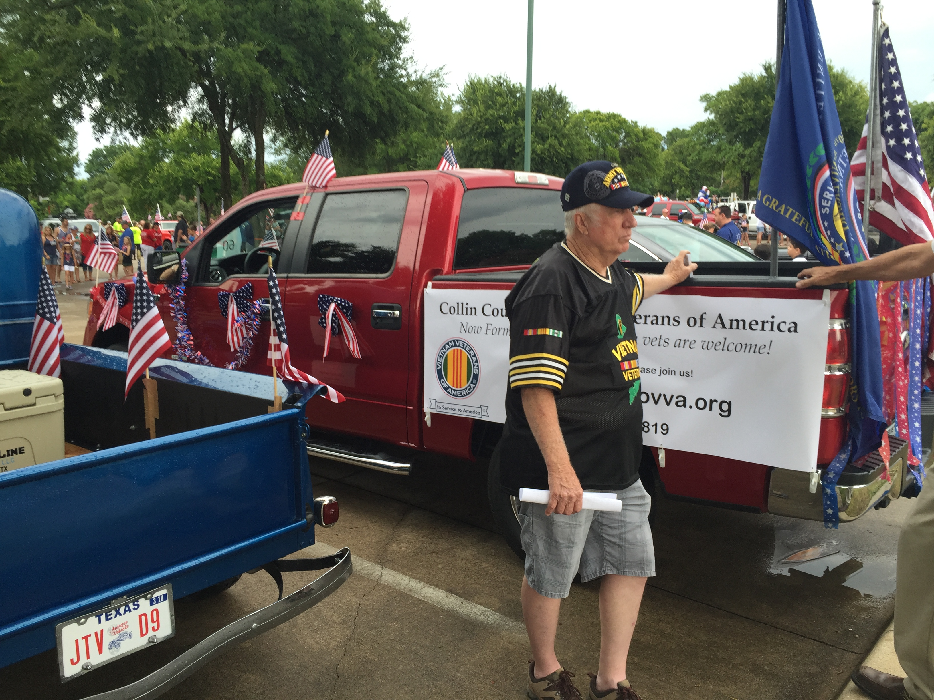 Red, White and Boom! Parade, McKinney, TX, July 4, 2016
