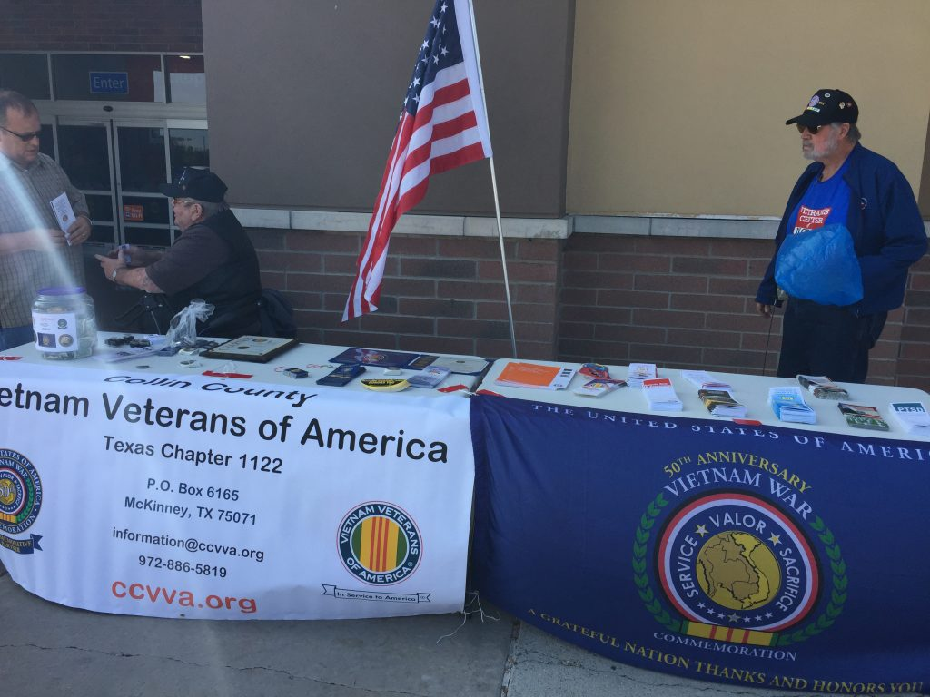 CCVVA Table at Walmart