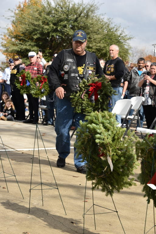 Wreath Laying Ceremony McKinney Cemetery
