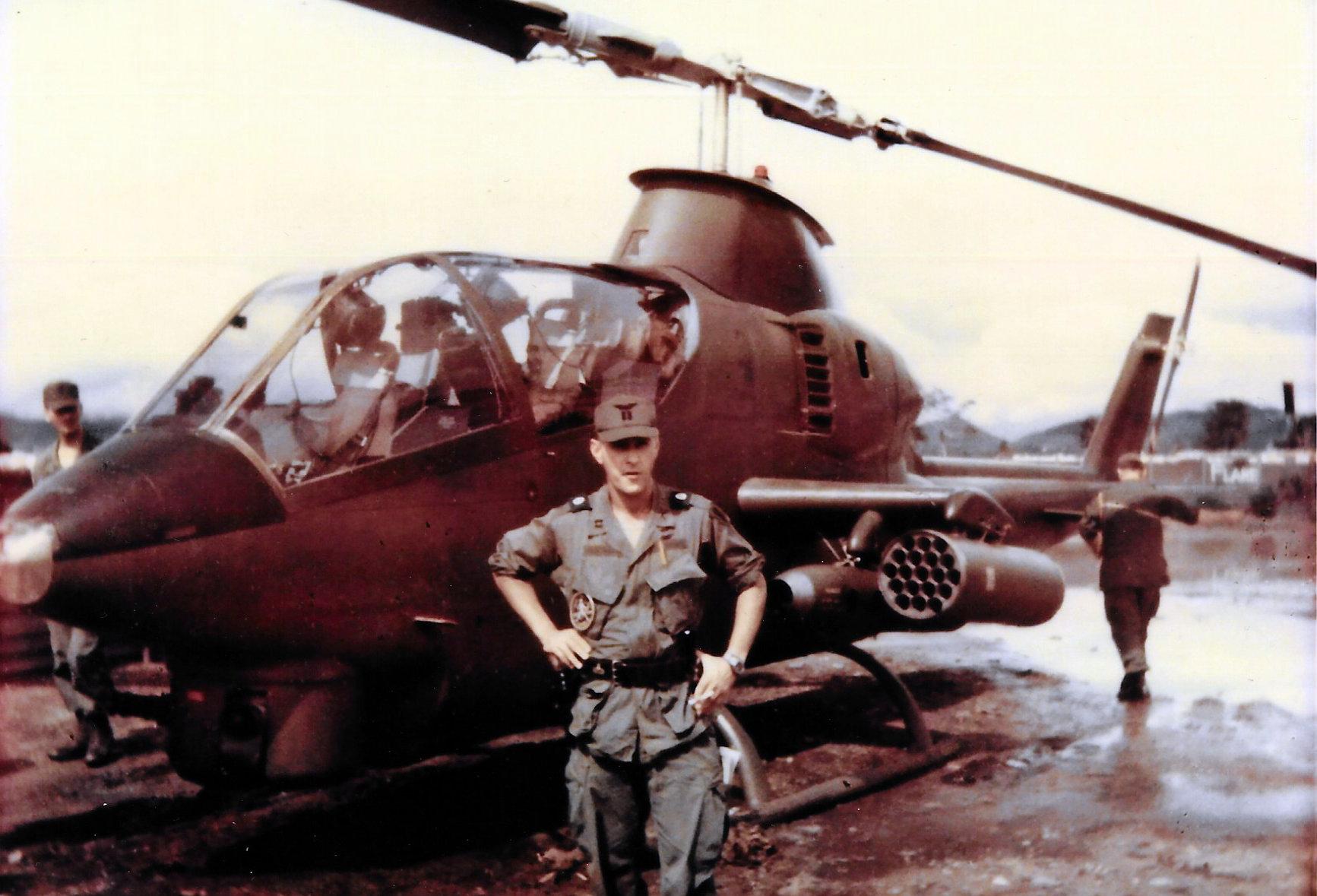 1968 - Harold Goldman's Cobra Gunship
